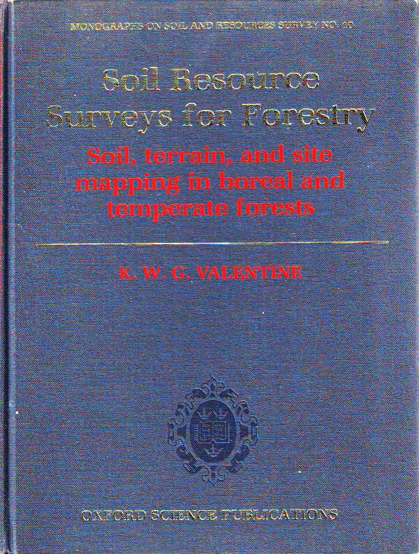 Soil Resources Surveys for Forestry