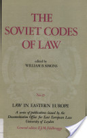 The Soviet Codes of Law
