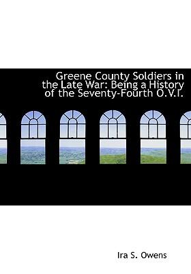 Greene County Soldiers in the Late War