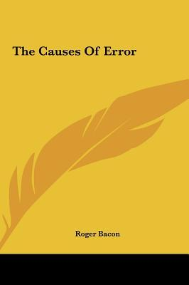 The Causes of Error ...