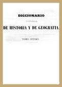 Diccionario Universal de Historia y de Geografía - Tomo Séptimo