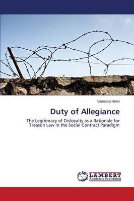Duty of Allegiance
