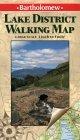 Lake District Walking Map