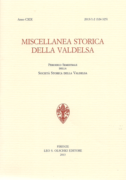 Miscellanea storica della Valdelsa