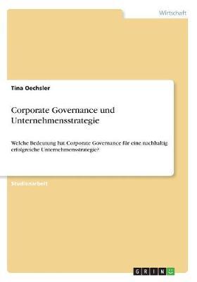 Corporate Governance und Unternehmensstrategie