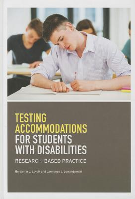 Testing Accomodations for Students With Disabilities