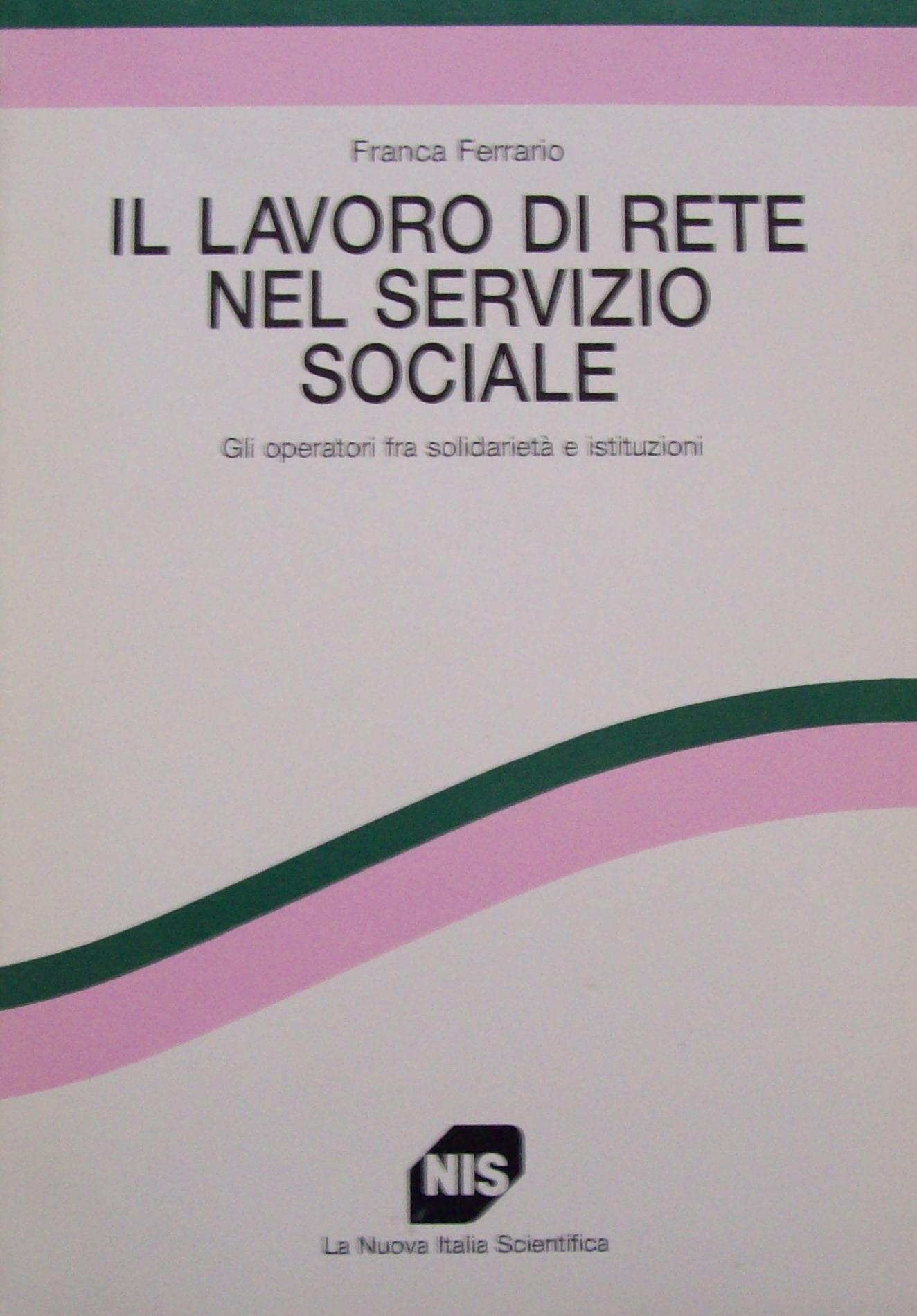 Il lavoro di rete nel servizio sociale