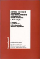 Metodi, modelli e tecnologie dell'informazione a supporto delle decisioni (2 volumi)