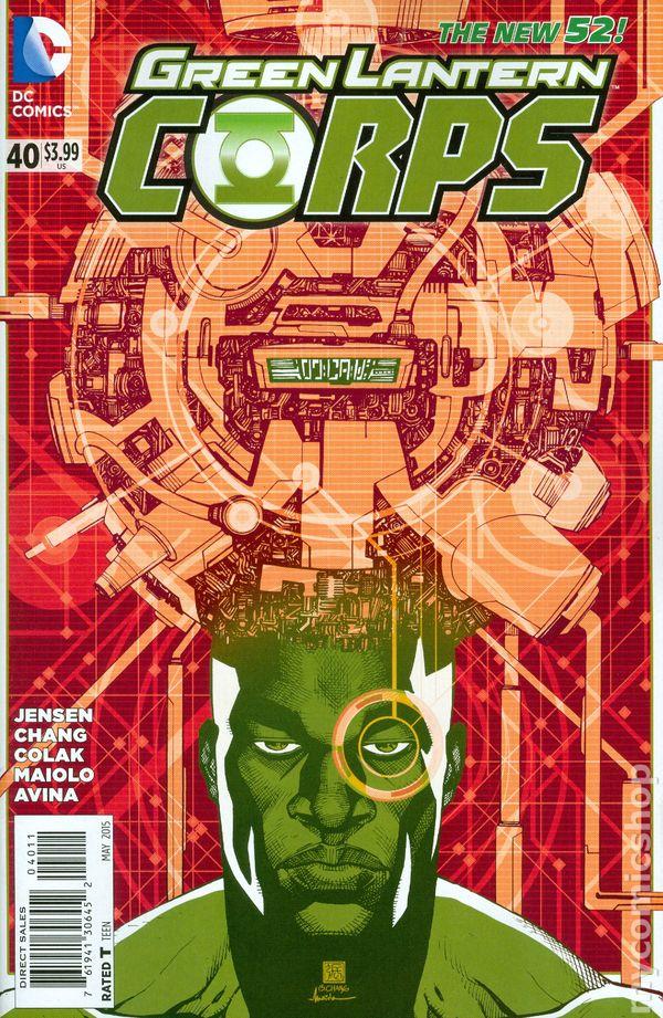 Green Lantern Corps Vol.3 #40