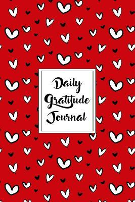 Gratitude Journal Scribbly Hearts Pattern 14