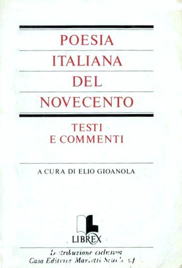 Poesia italiana del ...
