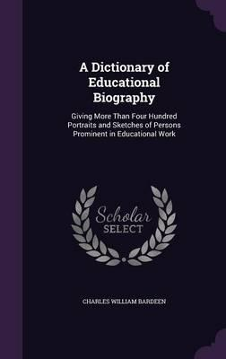 A Dictionary of Educ...