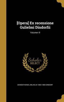 LAT-OPERA EX RECENSIONE GULIEL