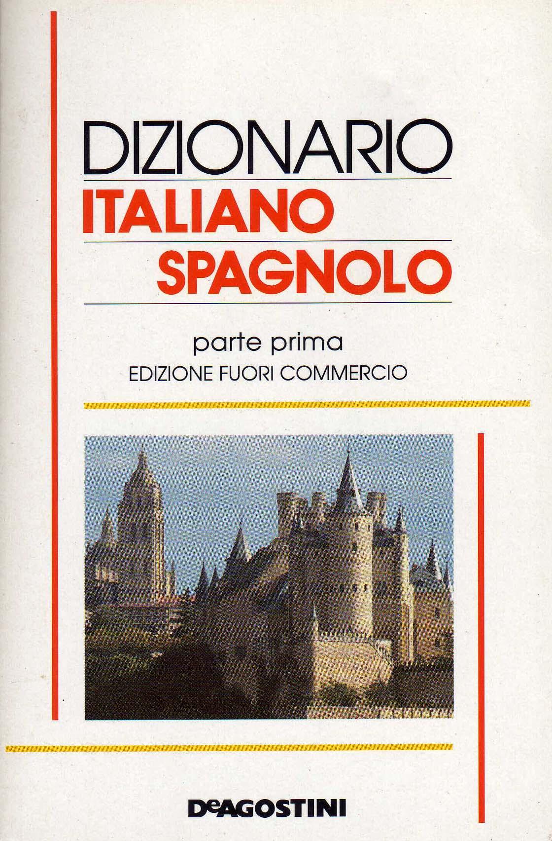 Dizionario italiano spagnolo