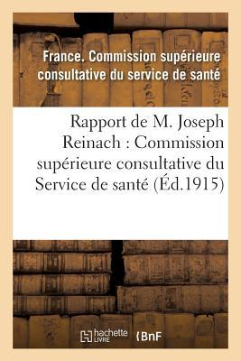 Rapport & Commission Superieure Consultative du Service de Sante