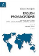 English pronunciations. Geo-social applications of the natural phonetics and tonetics method