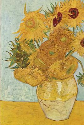 Vincent Van Gogh's 'vase With Twelve Sunflowers,' Art of Life Lined Journal