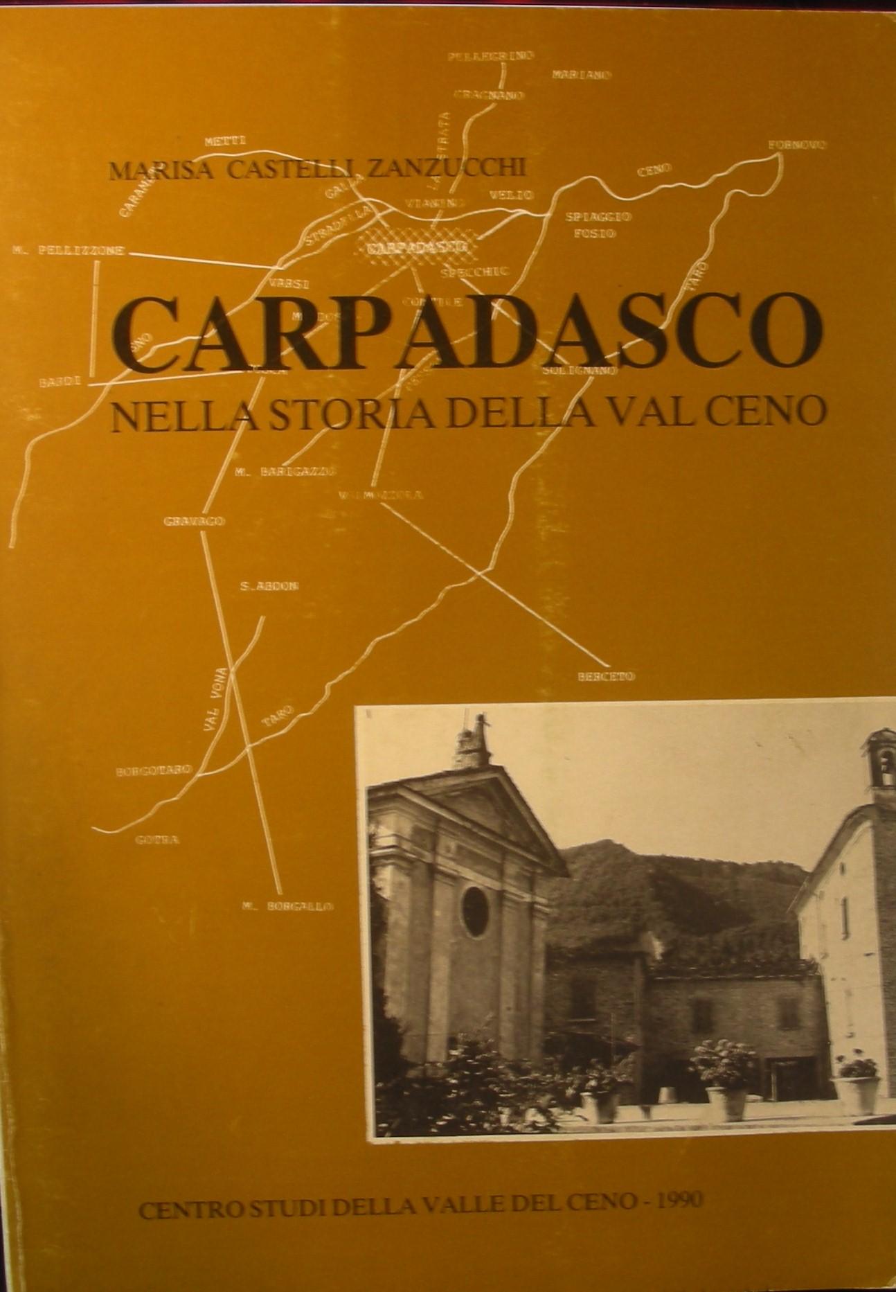 Carpadasco nella storia della Val Ceno