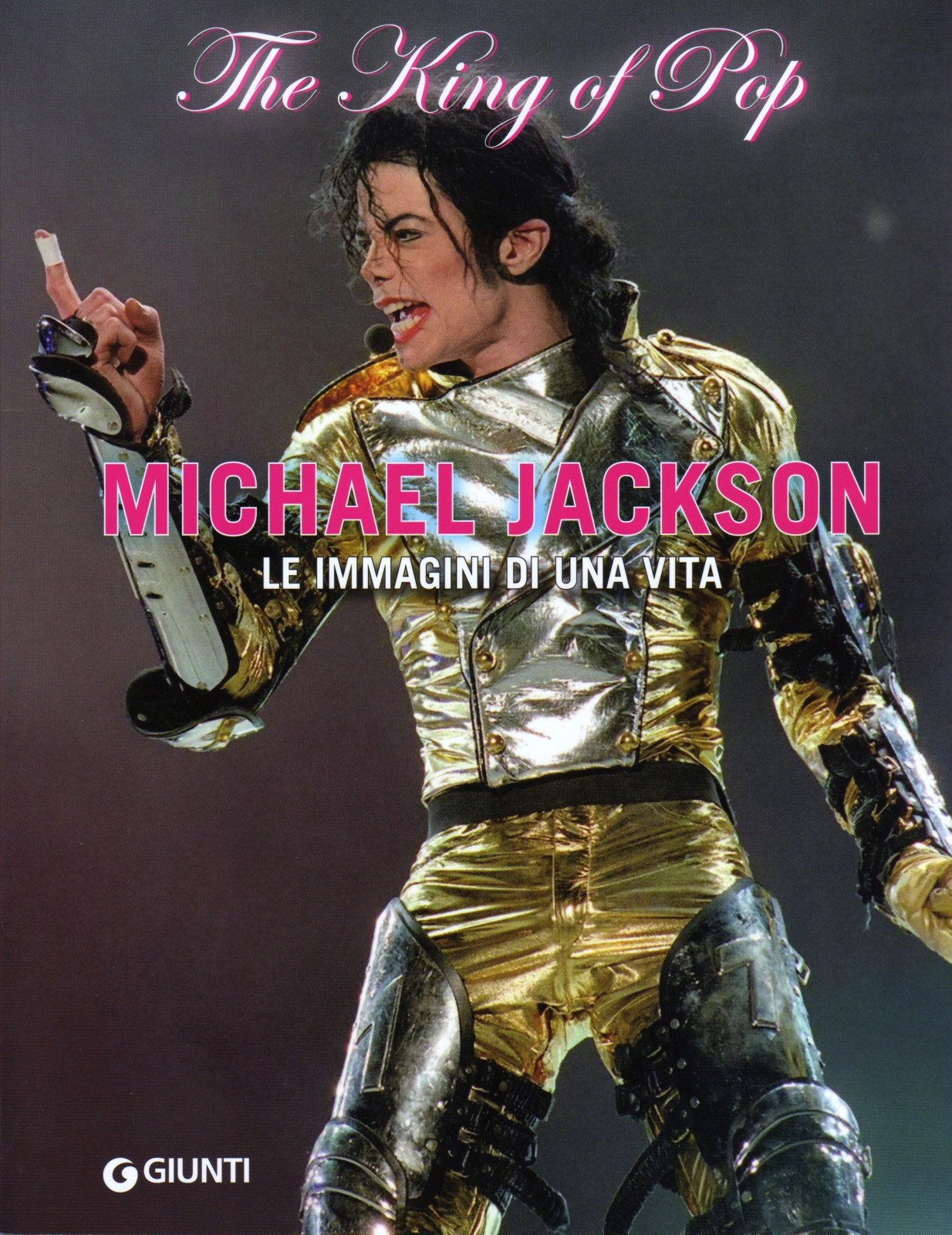 Michael Jackson. The king of pop