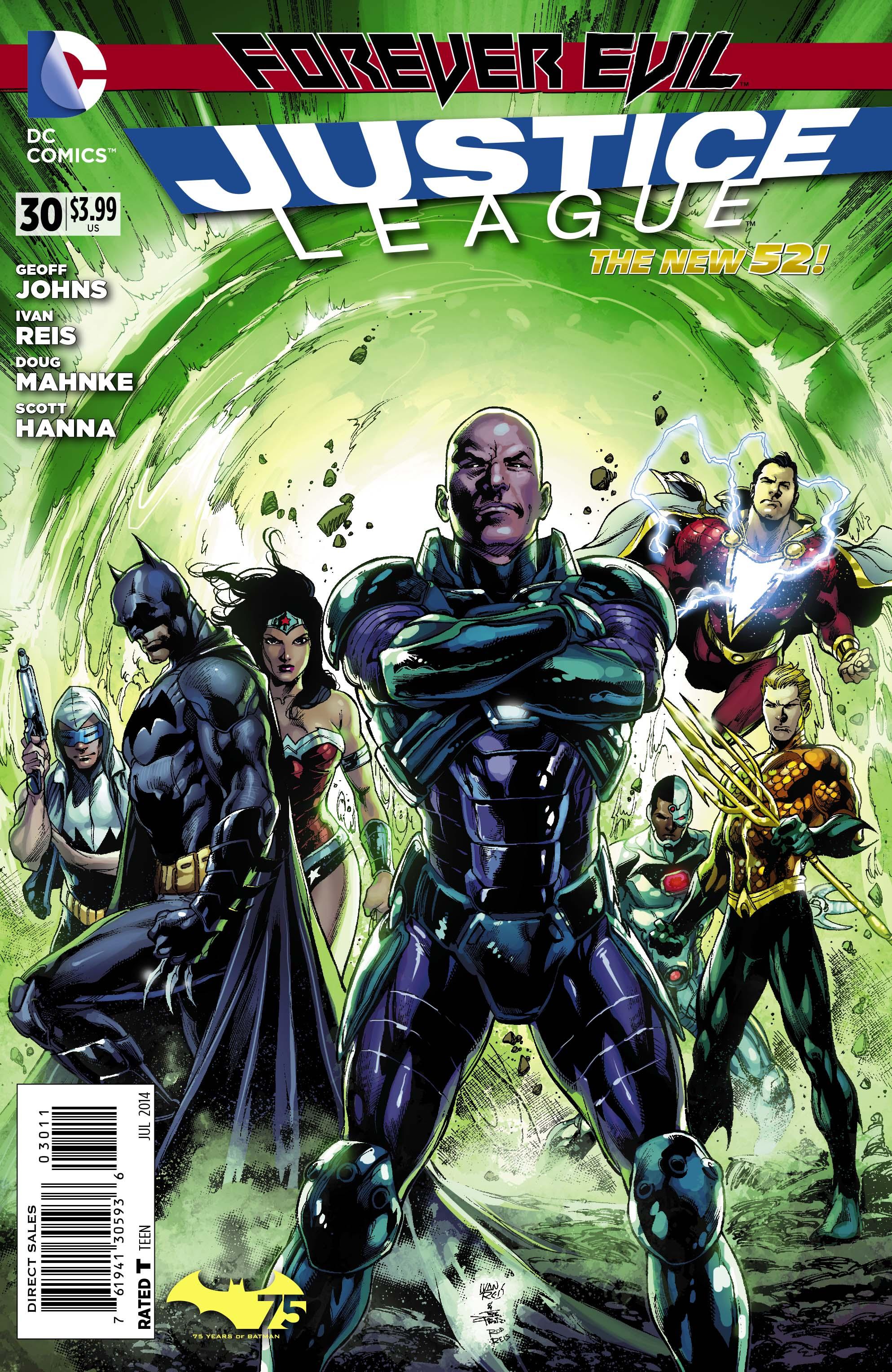 Justice League Vol.2 #30