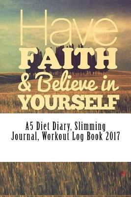 A5 Diet Diary, Slimming Journal, Workout Log Book