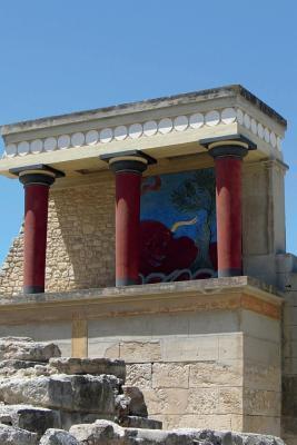 Minoan Palace at Knossos Crete Journal