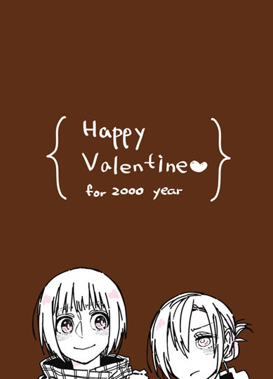 Happy Valentine❤for 2000 year
