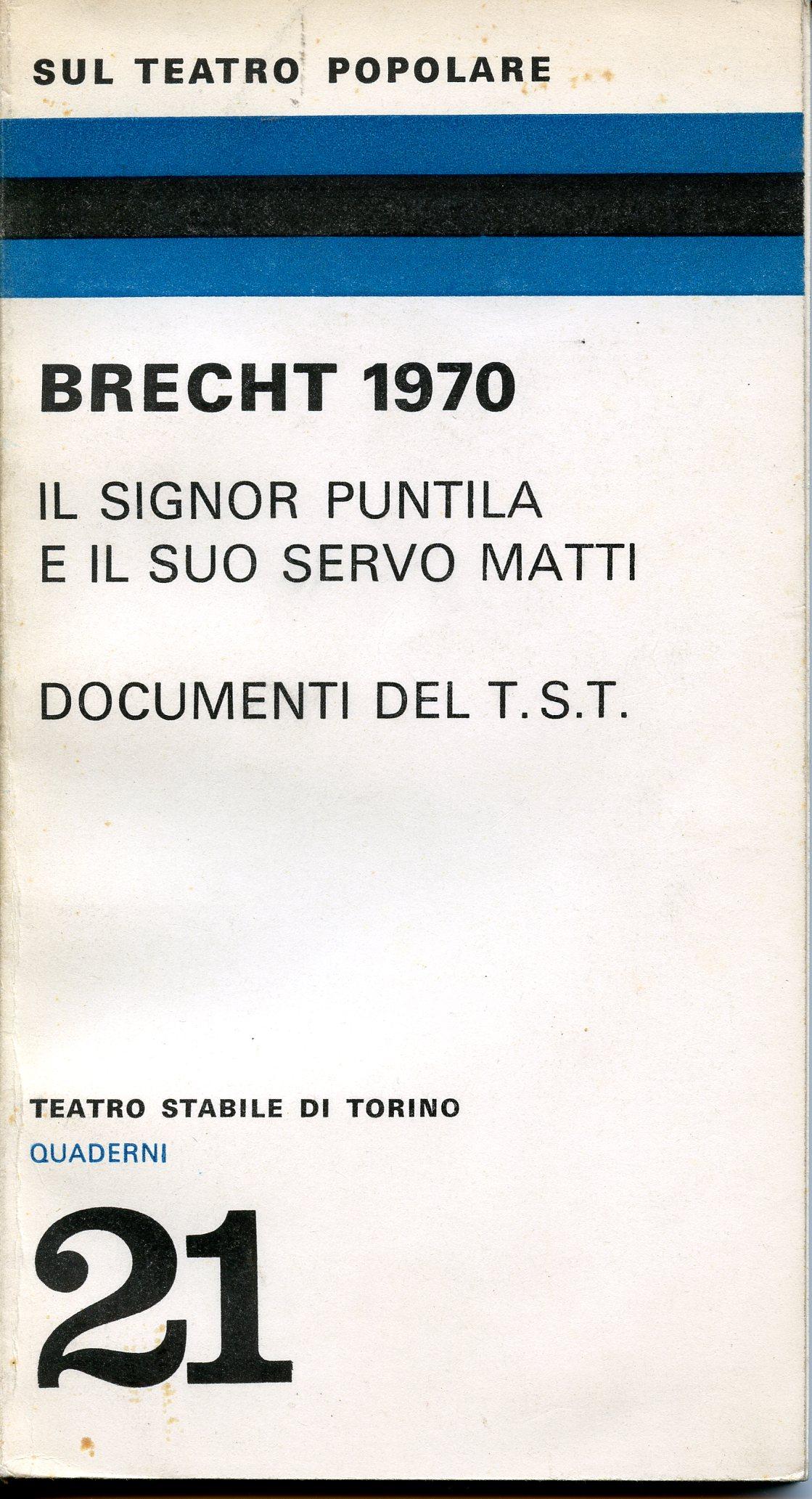 Bertolt Brecht 1970