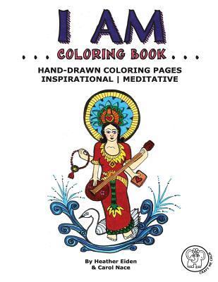 I Am Coloring Book