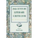 Twentieth Century Literary Criticism a Reader