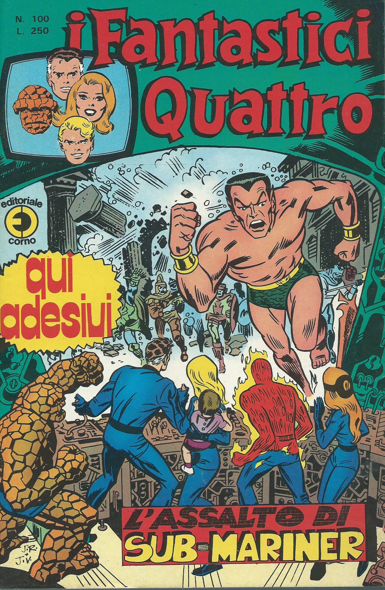 I Fantastici Quattro n. 100