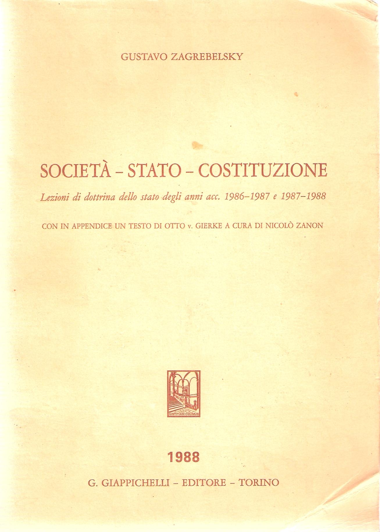 Società - Stato - C...