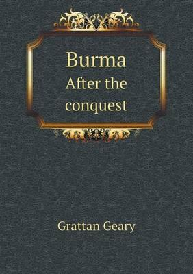 Burma After the Conquest