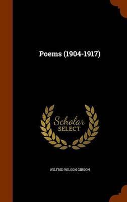 Poems (1904-1917)