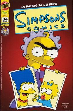 Simpsons Comics n. 34