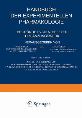 Handbuch Der Experimentellen Pharmakologie - Ergänzungswerk