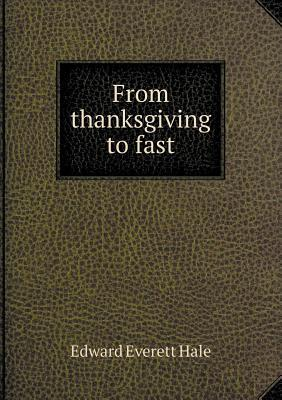 From Thanksgiving to Fast