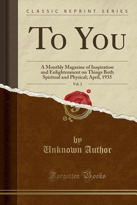 To You, Vol. 2