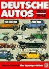 Deutsche Autos 1920-...