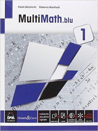 Multimath blu. Per le Scuole superiori. Con e-book. Con espansione online