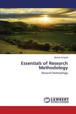 Essentials of Research Methodology