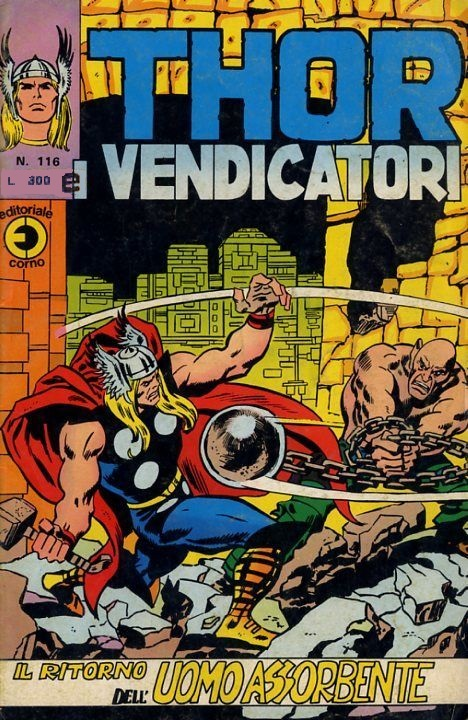 Thor e i Vendicatori (Il Mitico Thor) n. 116