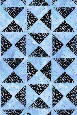Bullet Journal Notebook Triangles With Dots Pattern 10