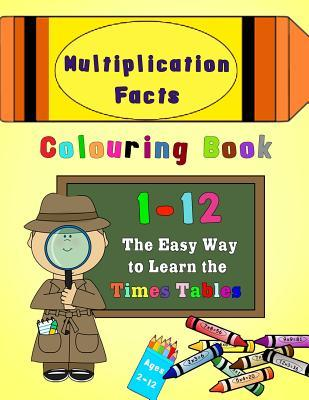 Multiplication Facts Colouring Book 1-12