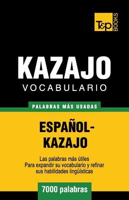 Vocabulario español-kazajo - 7000 palabras más usadas