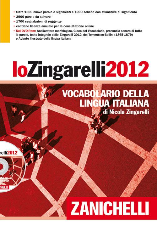 Lo Zingarelli 2012