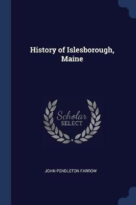History of Islesborough, Maine