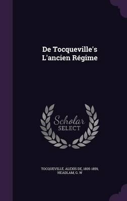 de Tocqueville's L'Ancien Regime