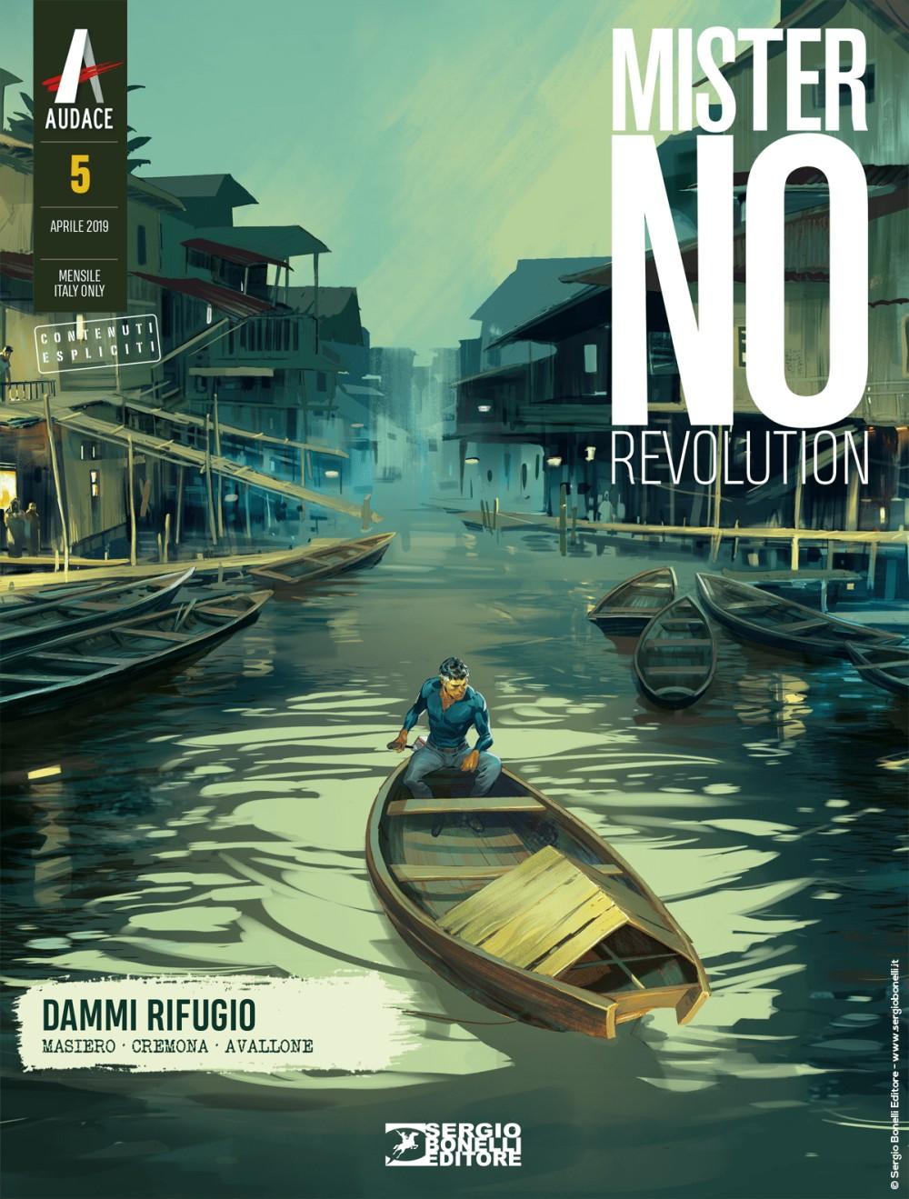 Mister No Revolution n. 5