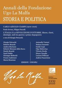 Annali della Fondazione Ugo La Malfa (2016)
